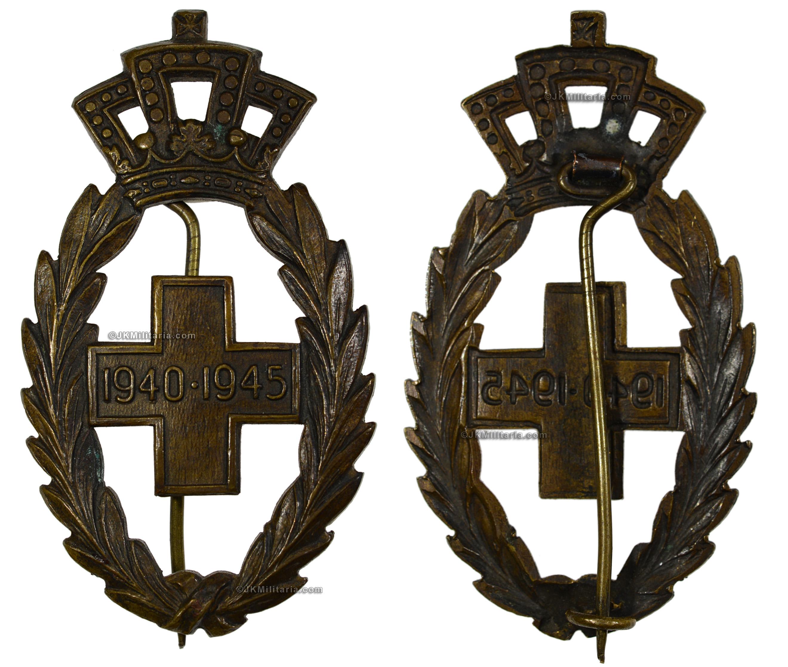 JK Militaria offering Belgian militaria, orders, medals and